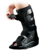 arthrodèse de la cheville bottes de marche